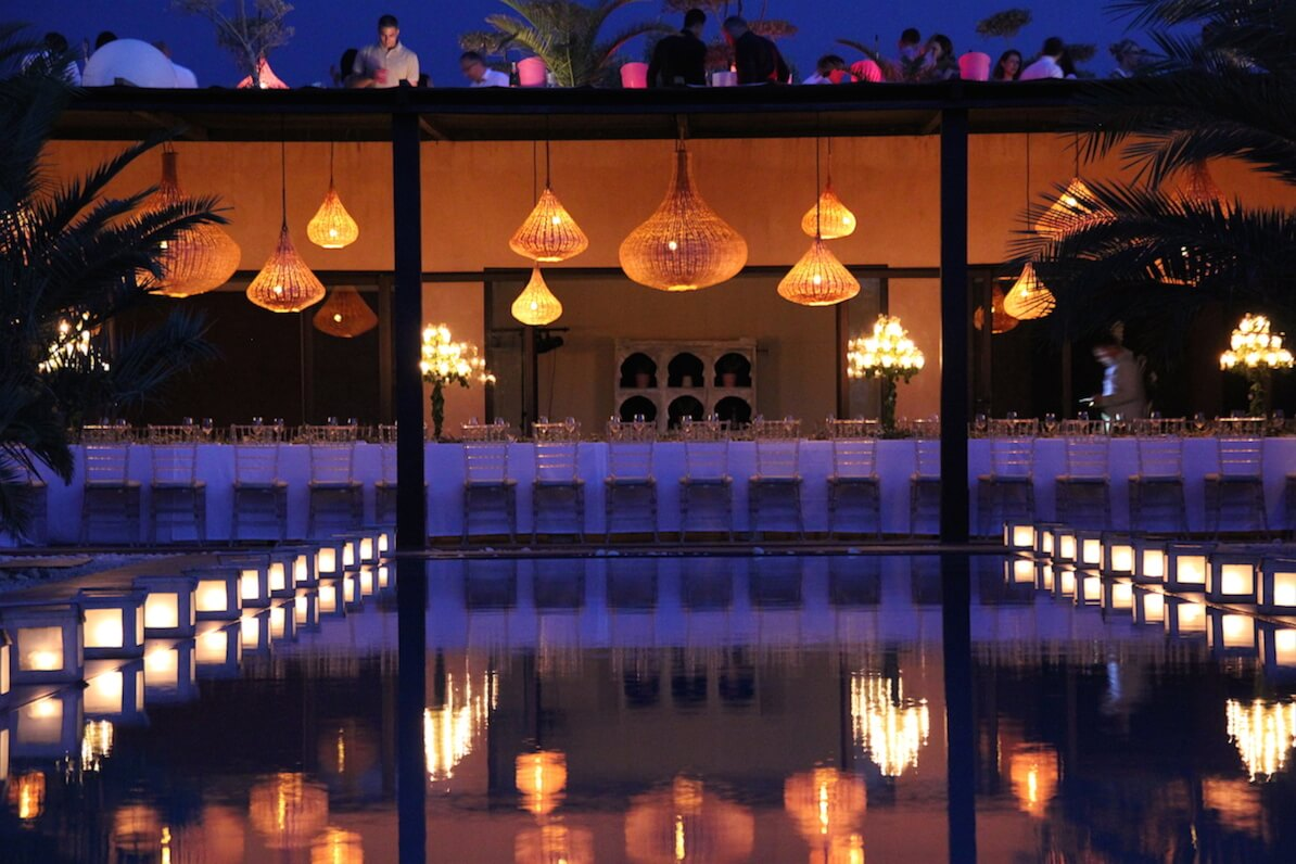 anniversaire villa marrakech