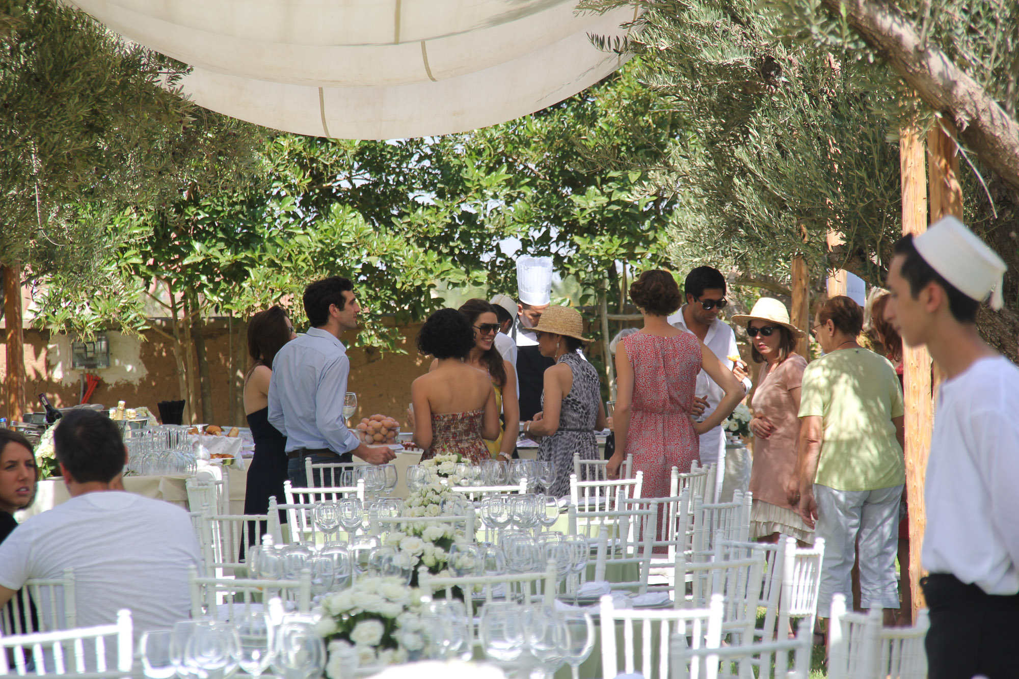 brunch mariage marrakech villa taj