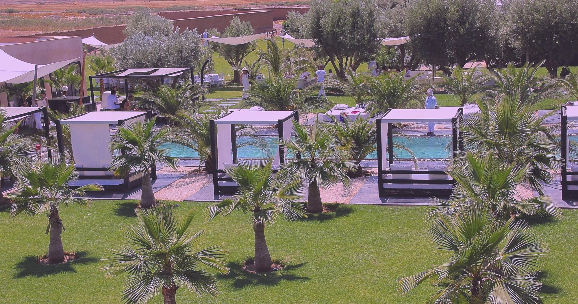 organisation brunch marrakech location maison Taj
