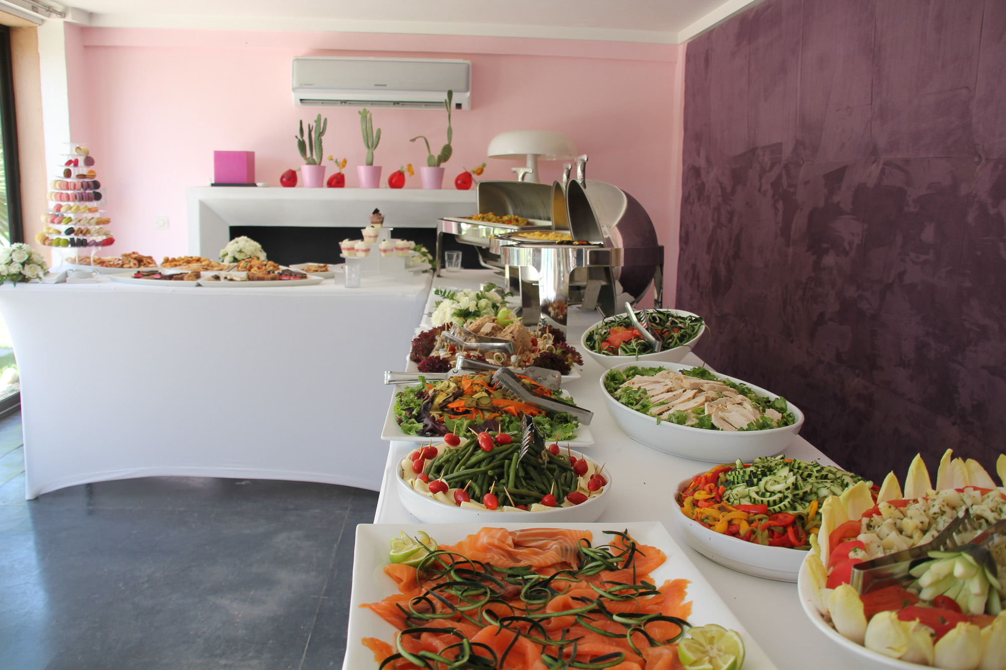 traiteur organisation brunch marrakech location maison Taj