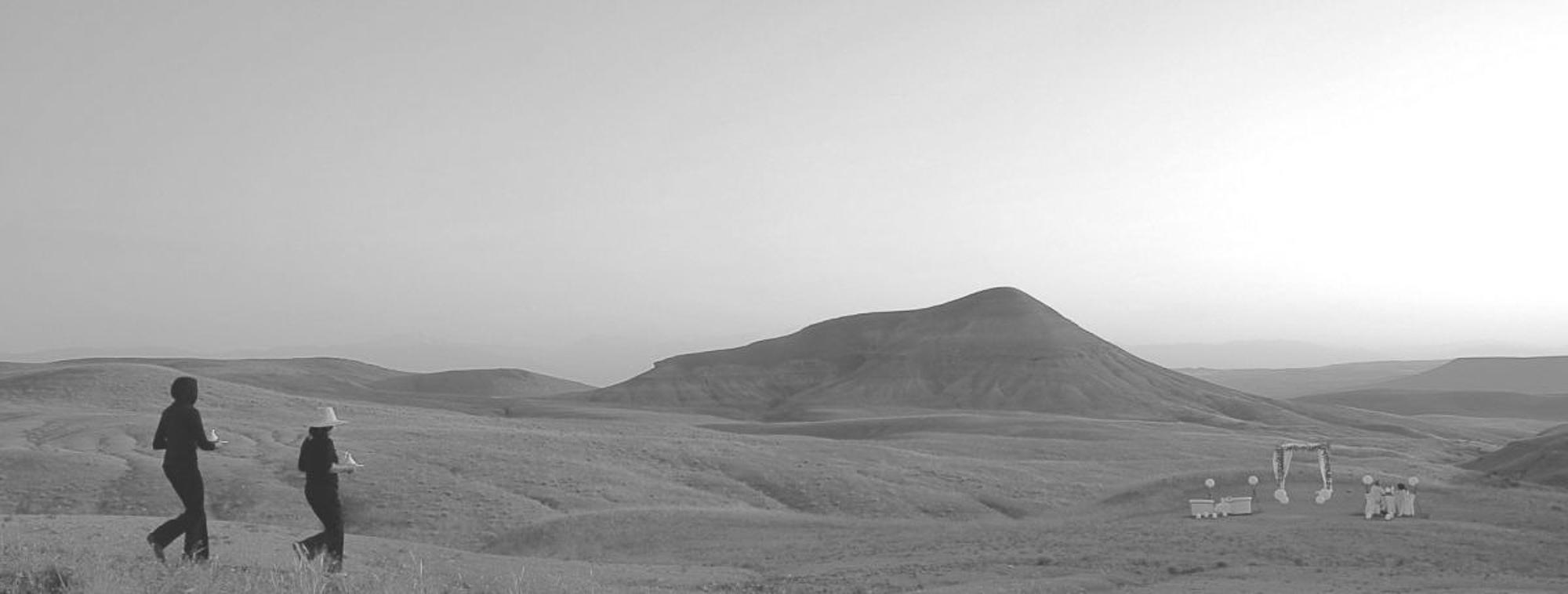 désert marrakech agafay maroc