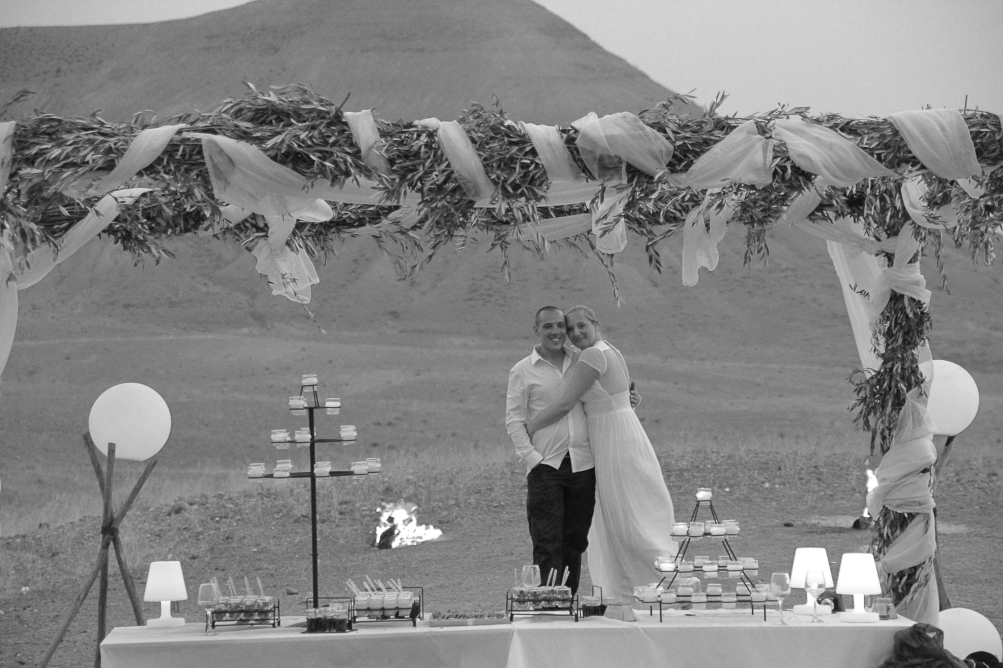 mariage désert marrakech agafay maroc