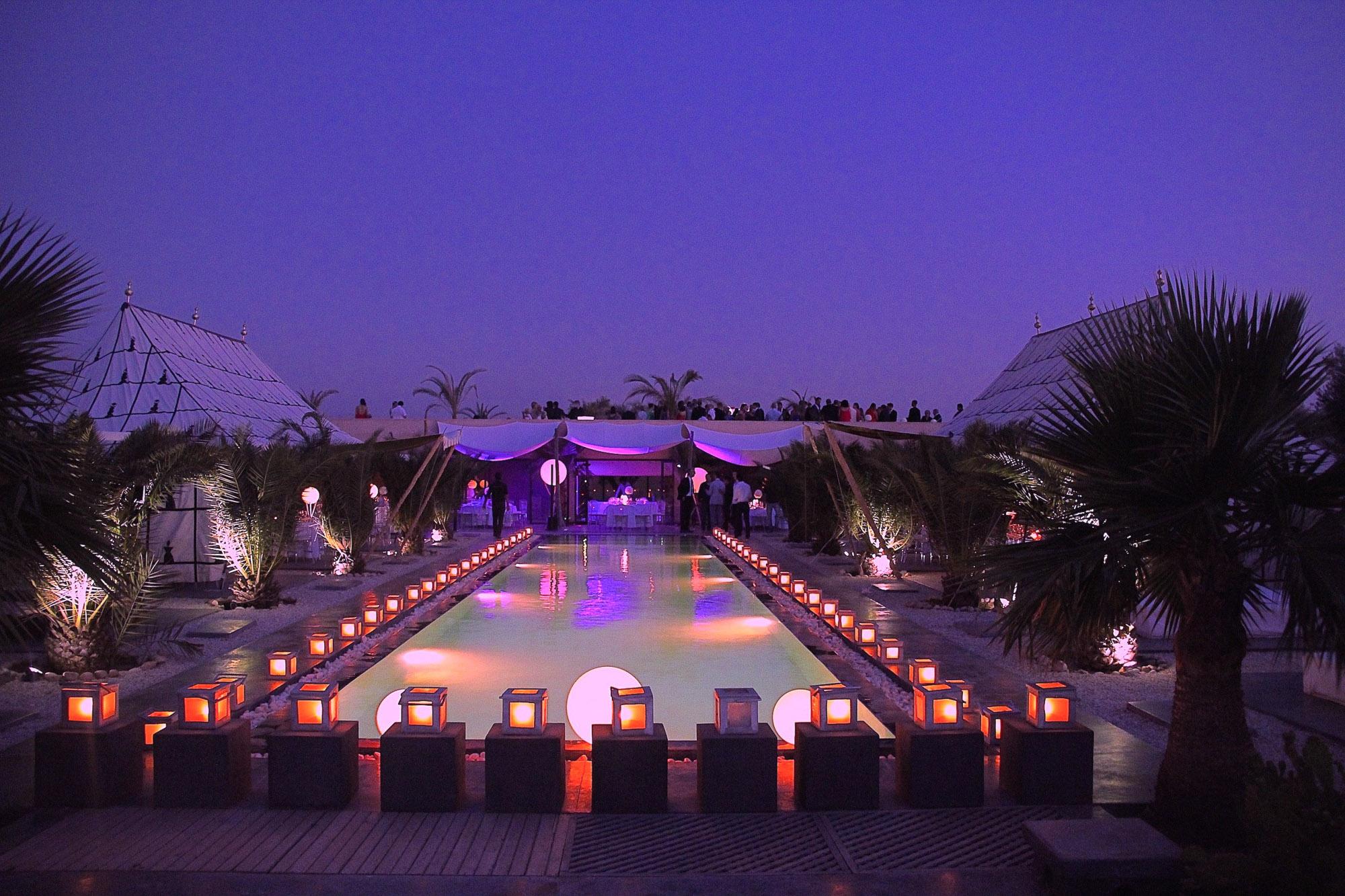 location d'une maison de luxe pour se marier au maroc à marrakech