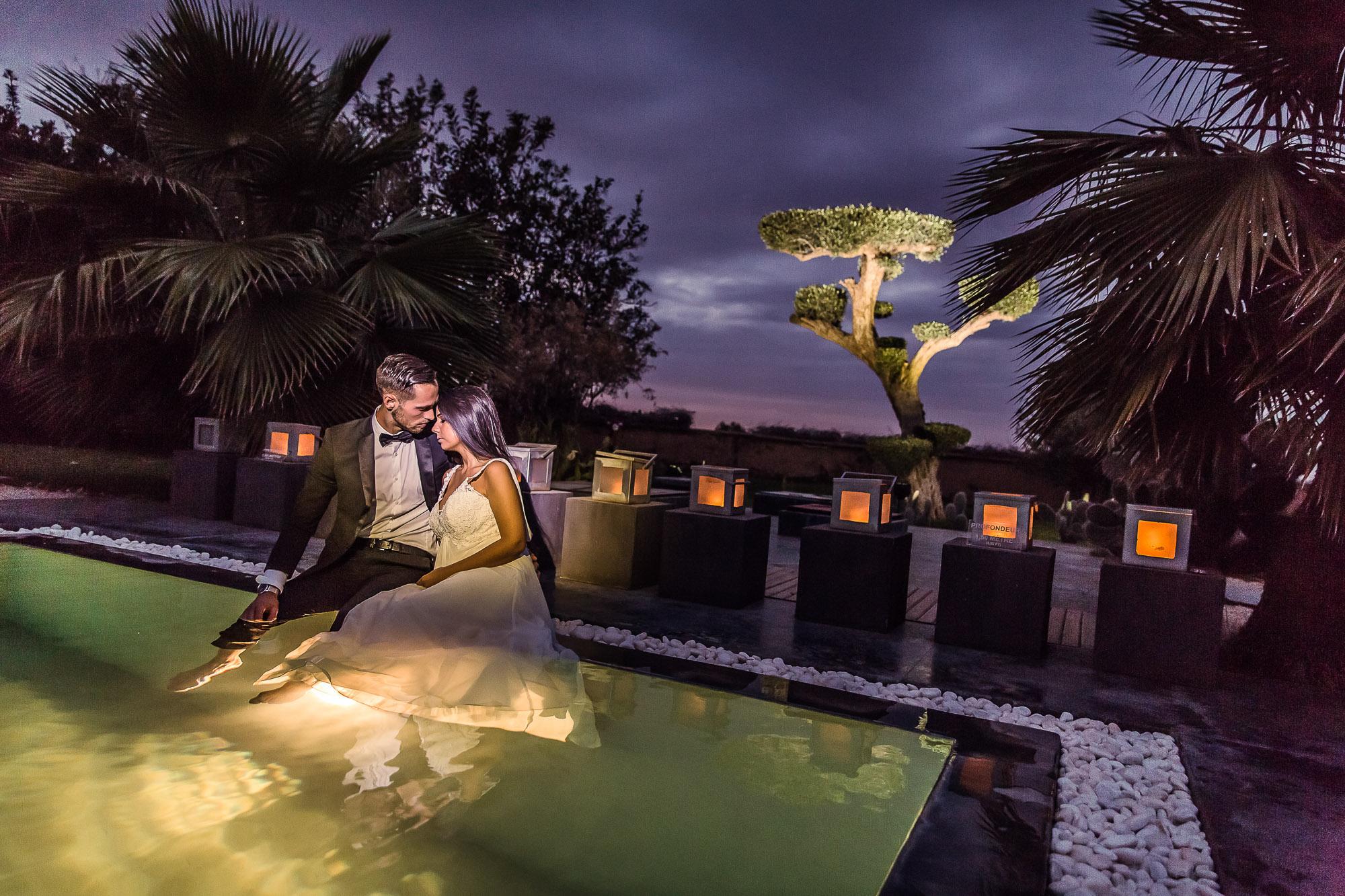location villa pour se marier à marrakech avec une organisatrice de mariage