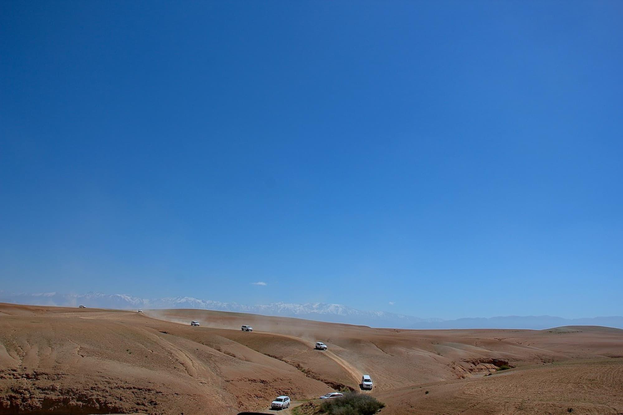 desert marrakech agafay