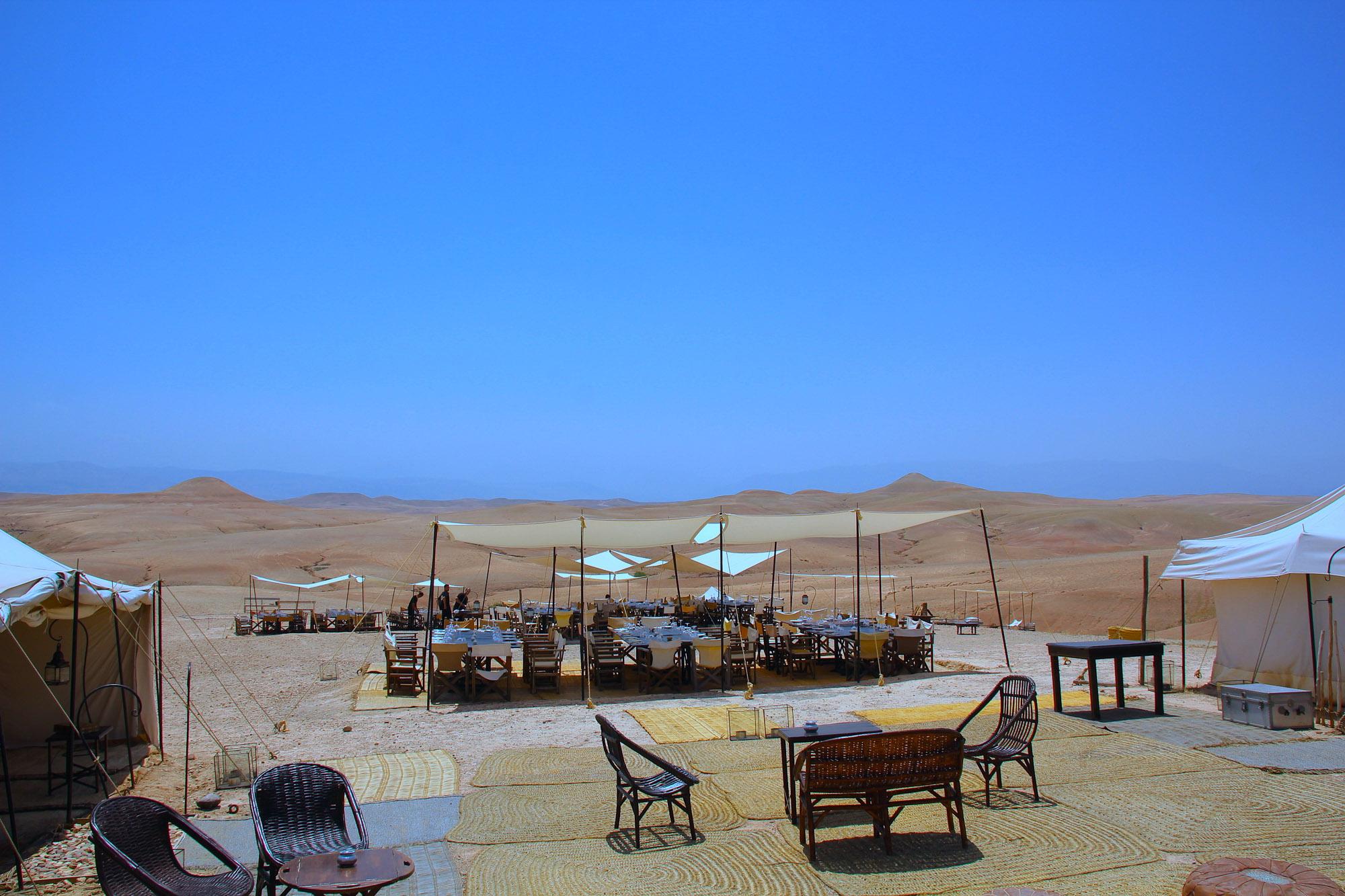 organisation de séminaire désert marrakech agafay maroc