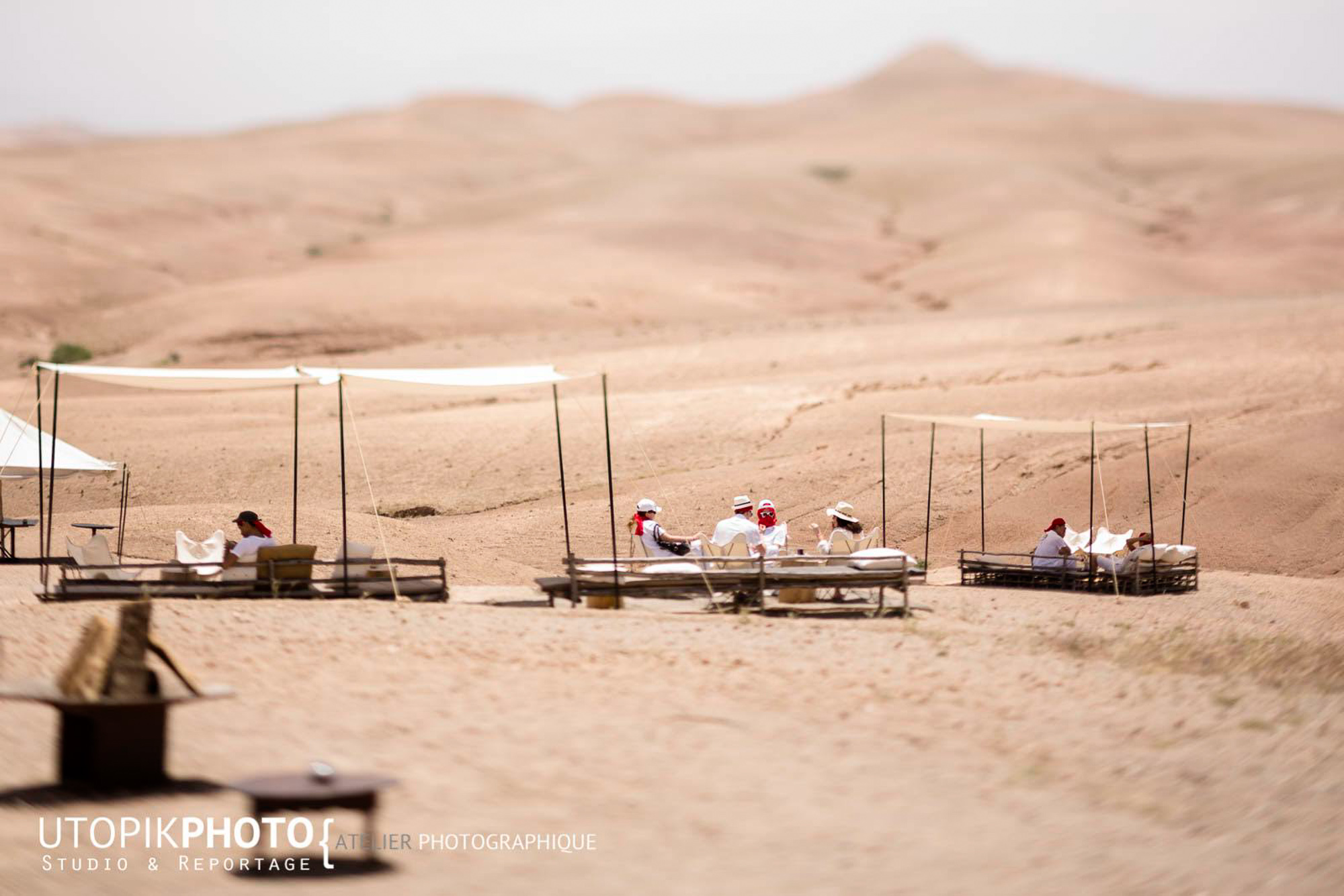 organisation de séminaire diner et déjeuner désert marrakech agafay maroc