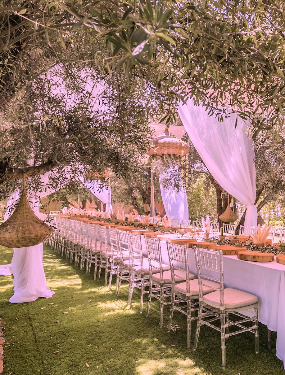 brunch marrakech mariage villa