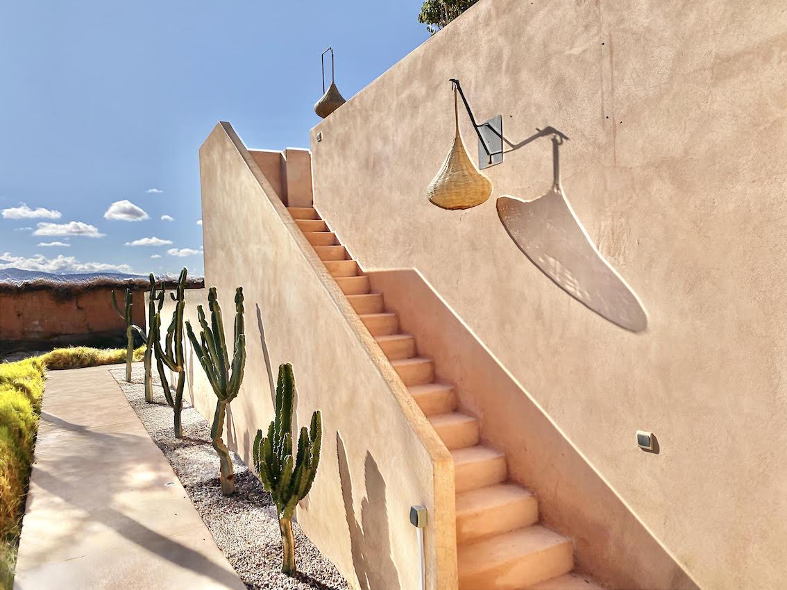 maison cactus marrakech