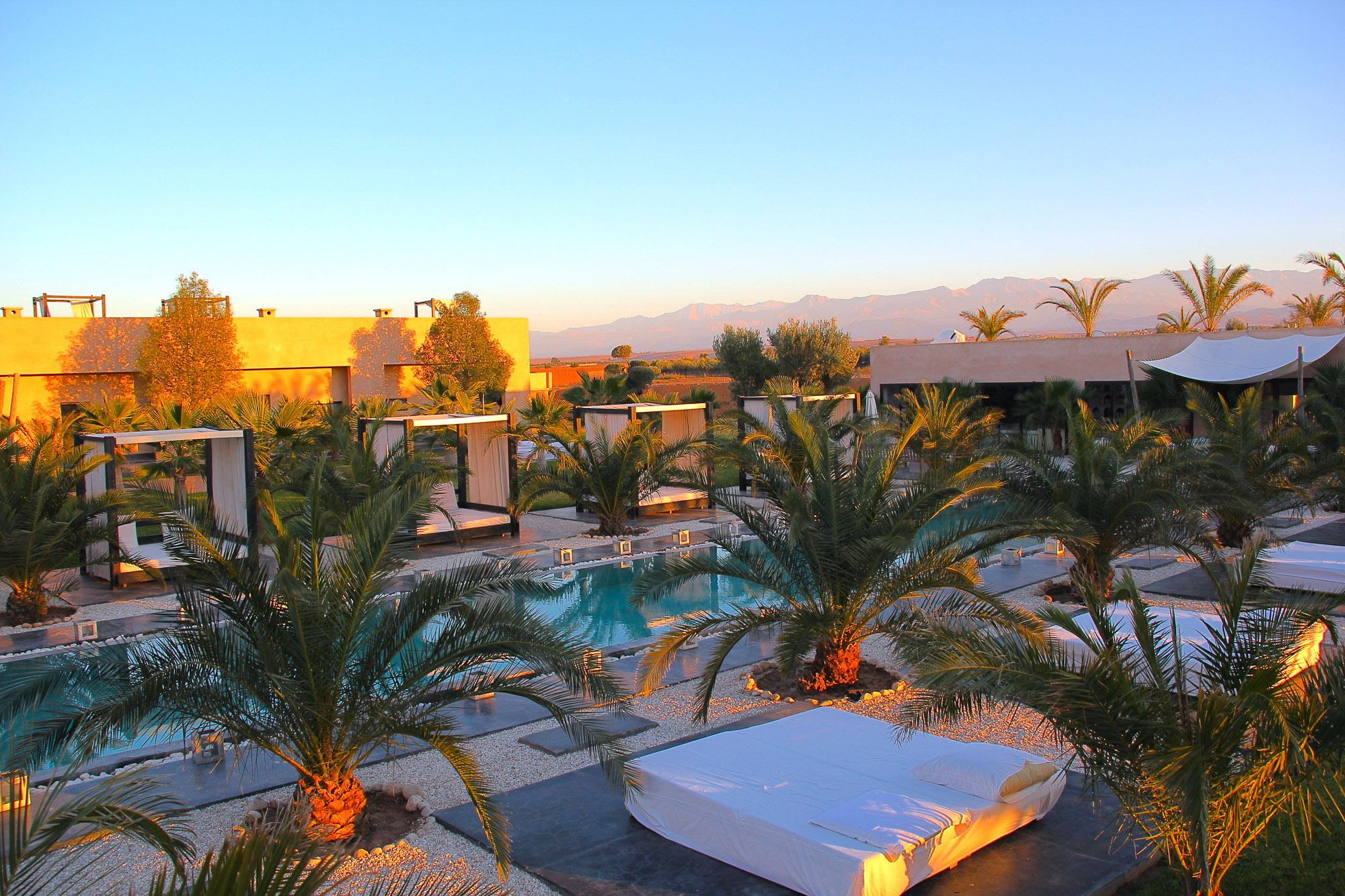 location maison luxe marrakech