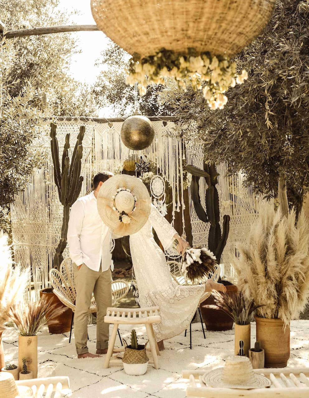 boho weddings marrakech bohemian