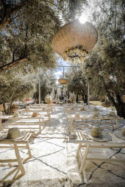 mariage bohemian marrakech boho