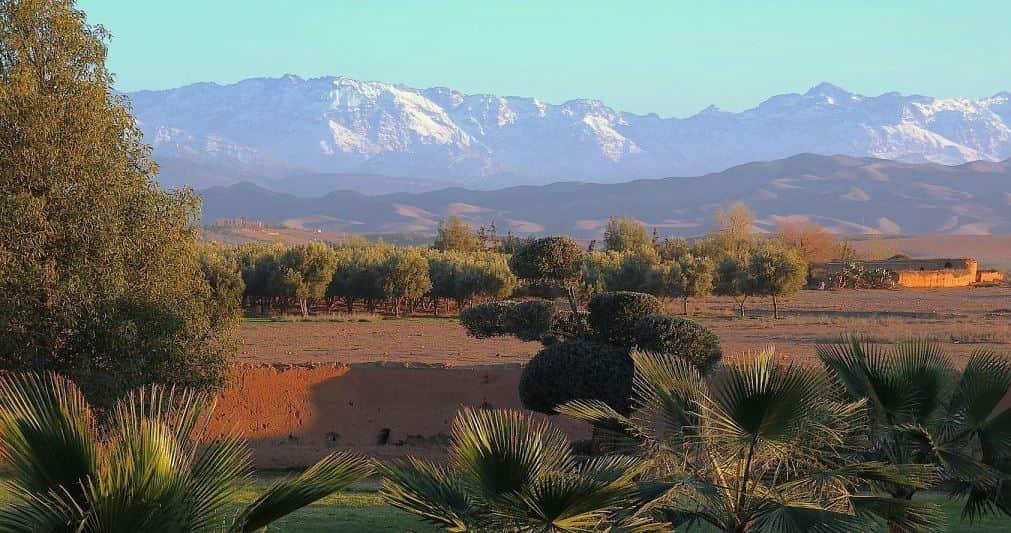 Visiter la chaîne de montagne de L'Atlas à Marrakech