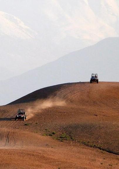 Balade en buggy et quad dans le désert d'agafay