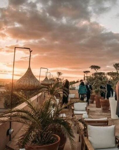 Séminaire organisé par une villa de location à Marrakech