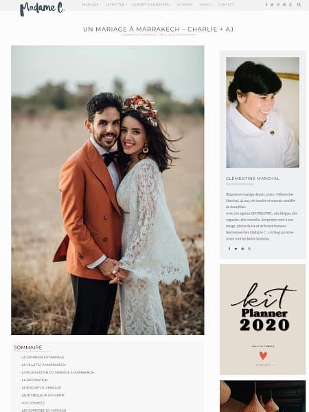 Un mariage à Marrakech – Charlie + AJ