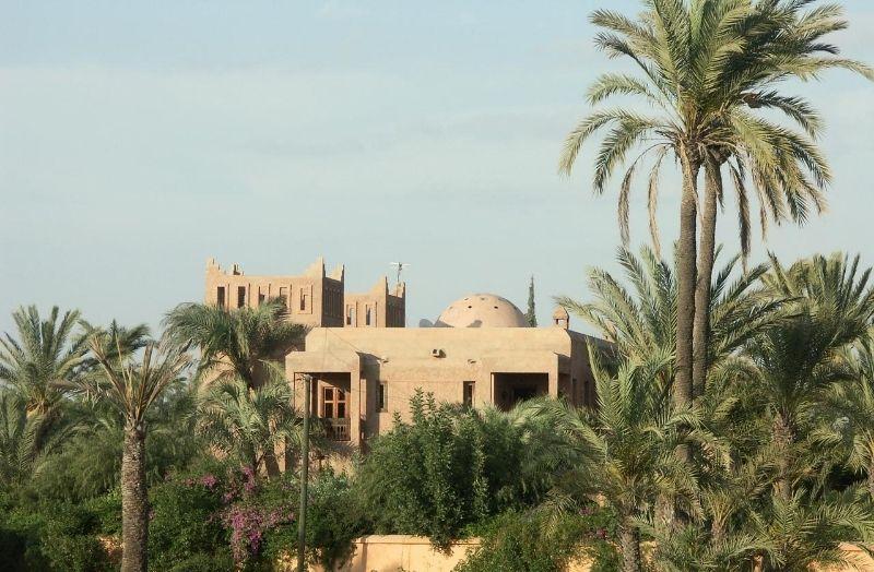 Villa à la palmeraie de Marrakech