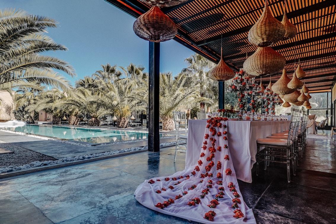 Maison marrakech avec piscine