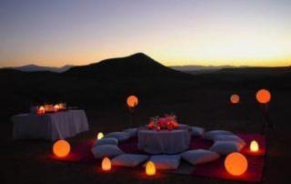 lune de miel marrakech desert