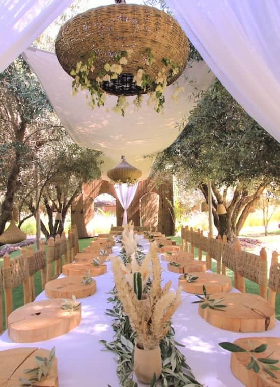 meilleur villa location avec personnel entretien marrakech