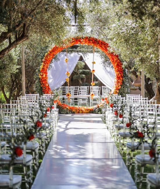 combien coute mariage luxe a marrakech