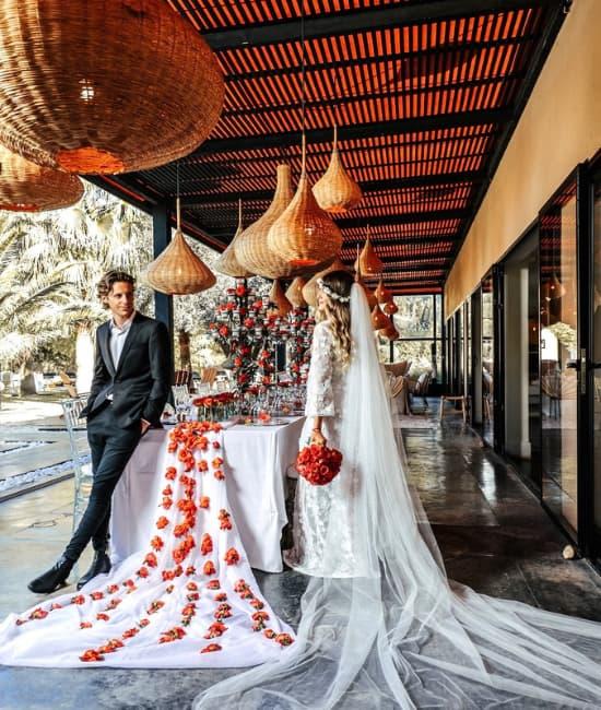 mariage marrakech prix location villa luxe