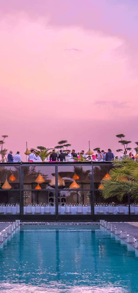 location villa de luxe a marrakech avec personnel