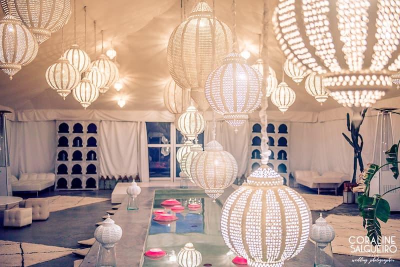 Dîner de Mille et une nuits à la Villa Taj Marrakech