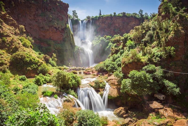 Ouzoud, cadre idyllique pour une demande en mariage à Marrakech