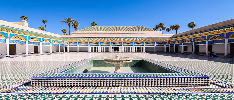 Le palais bahia, un des plus beaux palais de MArrakech