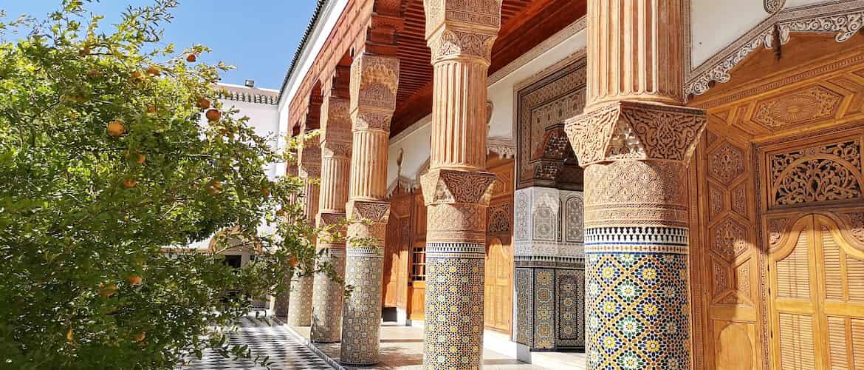 Beauté palais dar el bacha Marrakech