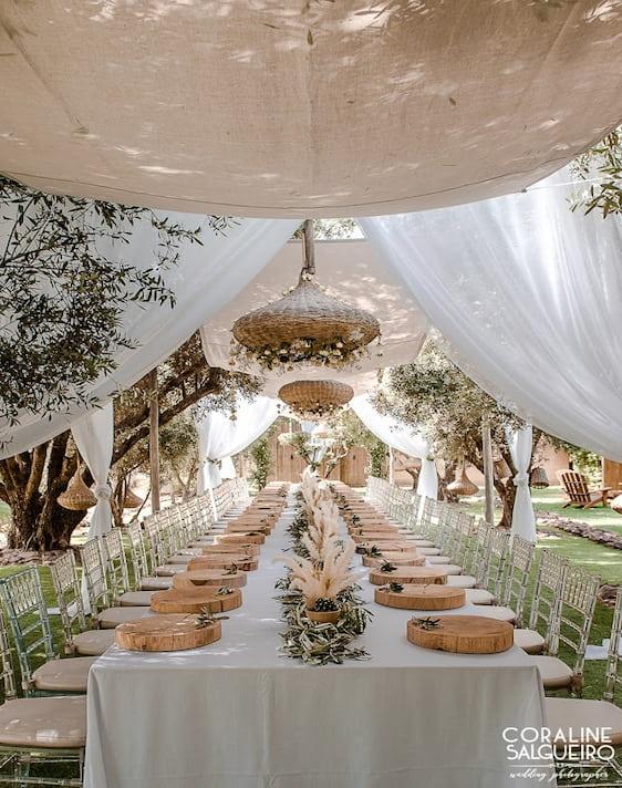 Dîner mariage laïque Villa Taj Marrakech