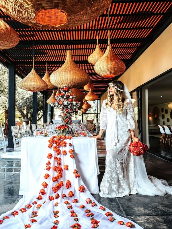 Mariée sans acte de mariage dans la Villa Taj Marrakech
