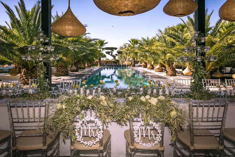 Mariage préparé par agence événementielle mariage Marrakech