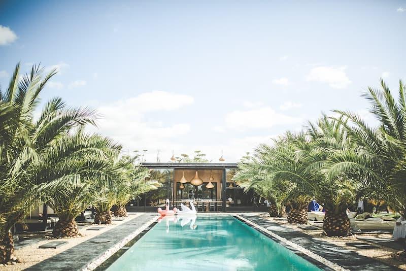 Location villa à Marrakech avec piscine