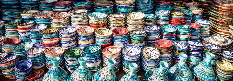 Plats souk Marrakech