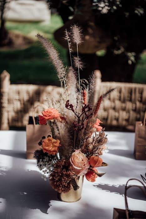 Bouquet de mariage à Marrakech