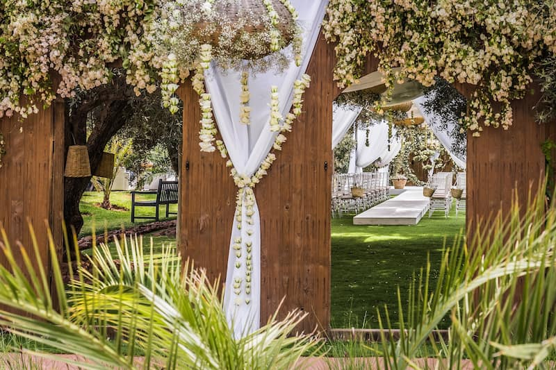 Location de villa à Marrakech pour un mariage