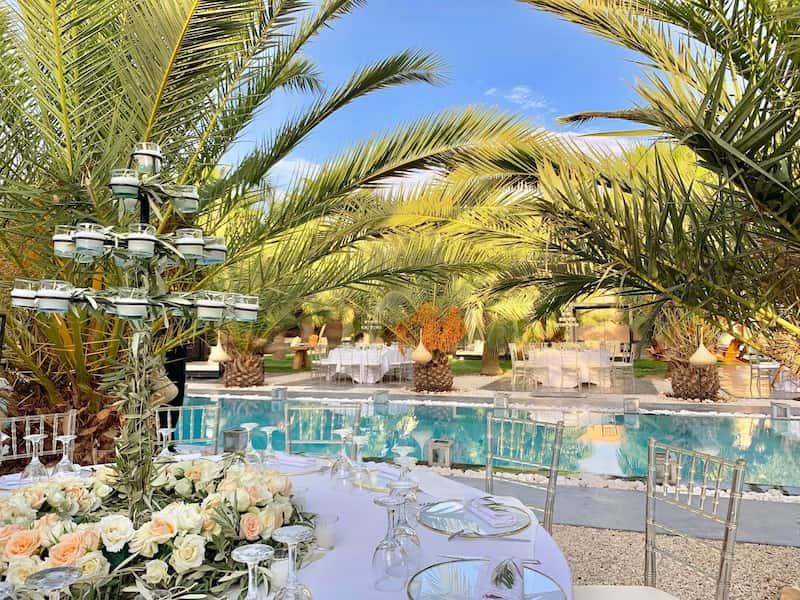 Villa de luxe avec piscine à Marrakech