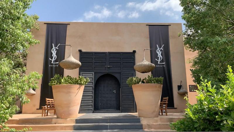Entrée Villa Taj pour un lancement de marque