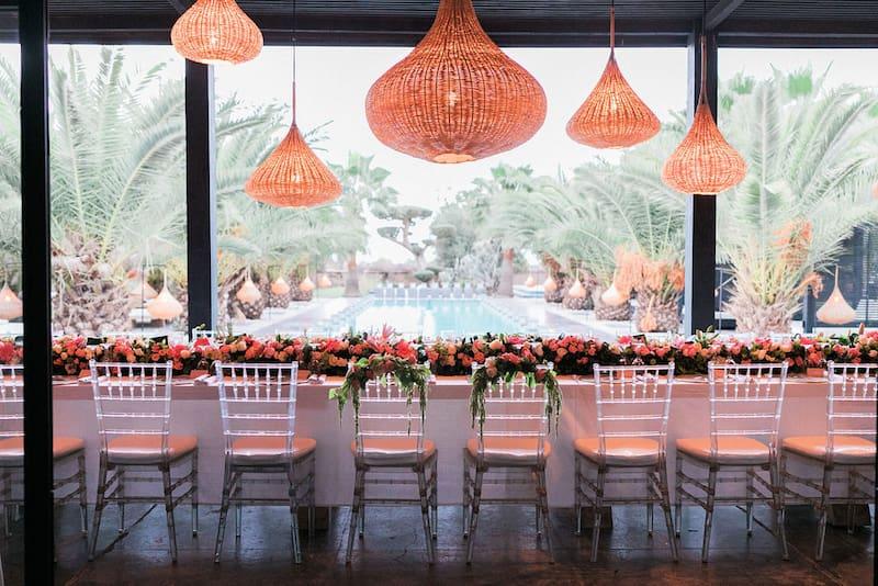 Villa Taj Marrakech organise organise des mariages romantiques à Marrakech