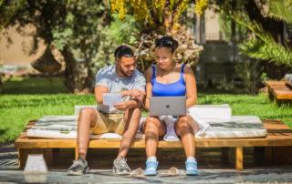 travail d'équipe dans le cadre d'un team bilding à Marrakech