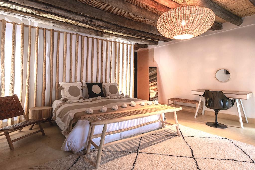chambre beldi à louer dans villa à Marrakech